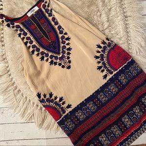 Tibi silk shift dress